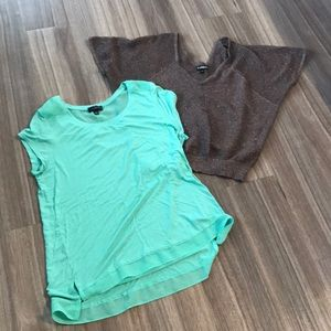 Tops - Lot of two women's size large tops